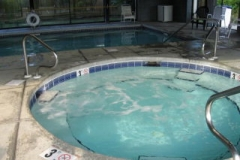Windward Pointe indoor hot tub